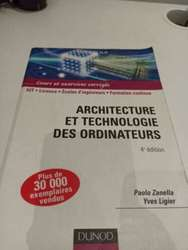 ② Architecture et Technologie des Ordinateurs Dunod - Informatique & Ordinateur | 2ememain