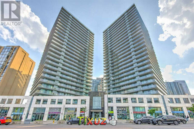 Decent two-bed, two-bath room condo at North York for rent