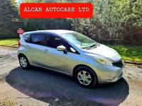 2015 Nissan Note 152 NISSAN NOTE 1.2 .. AUTOMATIC