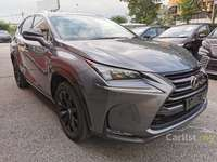 2016 Lexus NX200t VER-L JAPAN HIGH SPEC 3LED PRE CRASH SAFETY 2ND ROW ELEC SEAT POWER BOOT 5YEARS WA