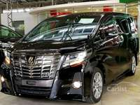 2017 Toyota Alphard 2.5 G SA TYPE GOLD PRE CRASH SYSTEM 5 YRS WARRANTY UNREGISTERED JAPAN