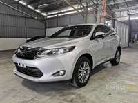 2015 Toyota Harrier 2.0 Premium (UNREG,5 YR WARRANTY)