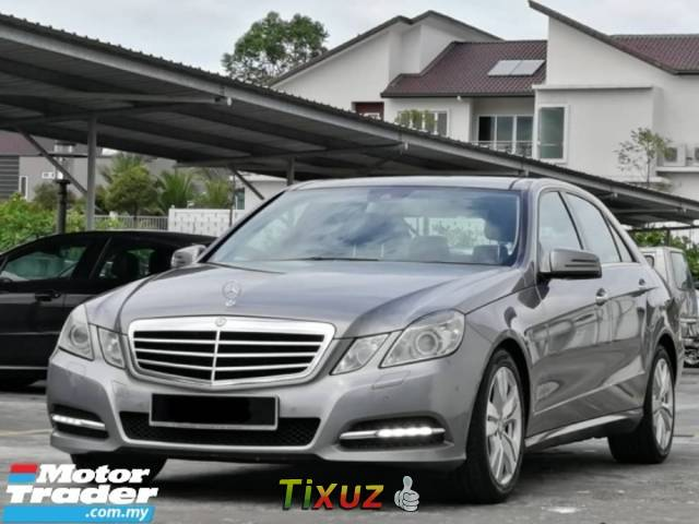 2013 MERCEDES-BENZ E-CLASS E250 CGI BLUEEFFICIENCY AVANTGARDE Panoramic Roof