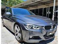 2015 BMW 330i 2.0 M Sport LCi Facelift 53K KM Accident Free Excellent Condition