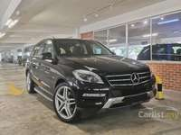 Merc Benz ML350 AMG CBU FULL SERVICE RECORD AT CYCLE & CARRIAGE