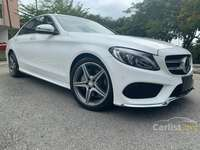 2017 Mercedes-Benz C180 1.6 AMG Sedan+5 YEARS WARRANTY
