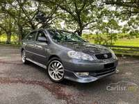 2004 Toyota Corolla Altis 1.8 G ONE NEW BODY PAINT TIP TOP CONDITION