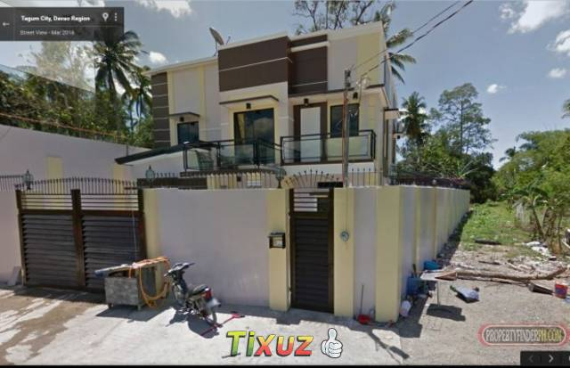 newly build duplex house with swimming pool