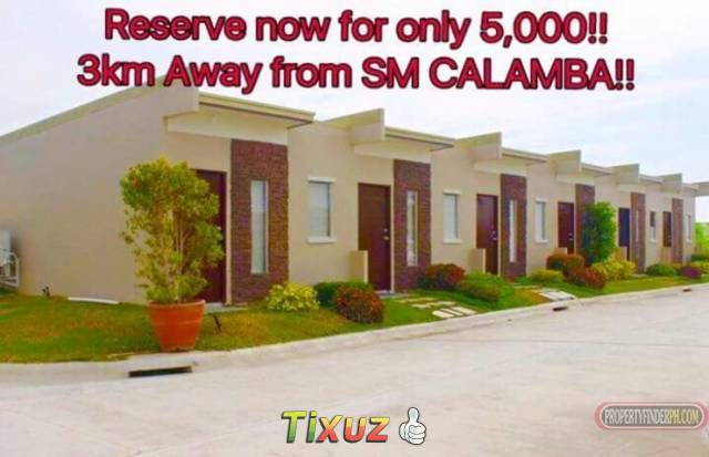 townhouse rowhouse for sale preselling in bria calamba
