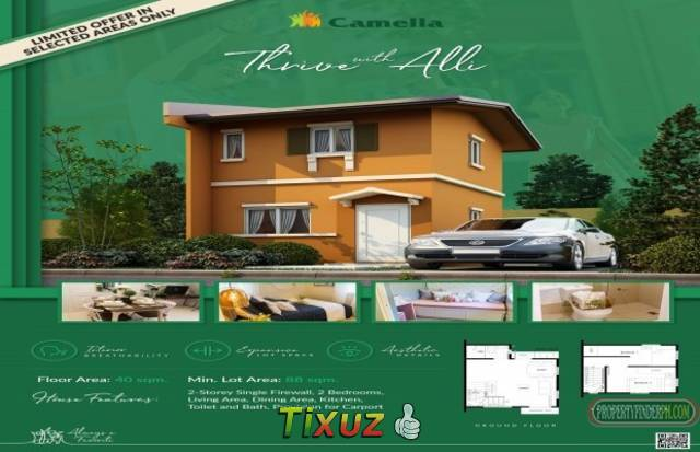 2-Bedroom House - House and Lot for Sales in Bulacan from 3.2M