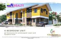 CITY HOMES - 4 BR HOUSE FOR SALE IN TUNGHAAN, MINGLANILLA