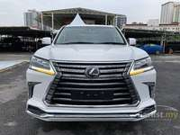 2018 Lexus LX570 5.7 FULL SPEC UNREG