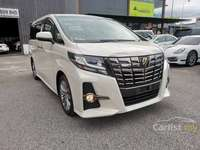 2016 Toyota Alphard 2.5 TYPE-GOLD / PRE-CRASH SAFETY SYSTEM / POWER BOOT / ROOF MONITOR