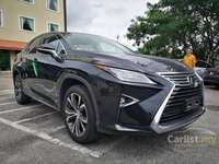 2016 Lexus RX200t 2.0 Premium SUV **PRICE Included SST**CLEARANCE SALES**SUNROOF**SIDE VIEW CAMERA**