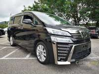 2018 Toyota Vellfire 2.5 Z MPV **PRICE Included SST**CLEARANCE SALES**8 SEATERS**1 POWER DOOR**UNREG