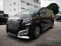 2016 Toyota Alphard 2.5 G S C Package MPV **PRICE Included SST**CLEARANCE SALES**AUTO CRUISE CONTROL