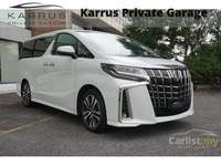 2019 Toyota Alphard 2.5 G S C Package (A) -UNREG-