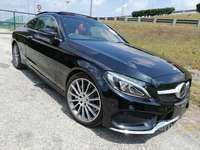 Red Leather P.Roof HUD 2016 Mercedes-Benz C180 1.6 Coupe Sport Premium