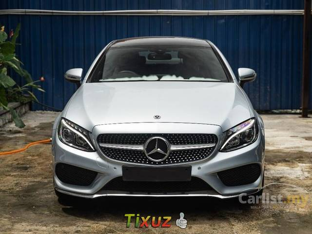 2018 Mercedes-Benz C300 2.0 AMG Coupe Sunroof Hottest C Class