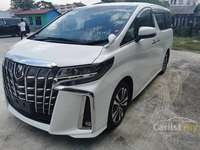 2018 Toyota Alphard 2.5 G SC/ALPINE/CHEAPEST IN THE TOWN