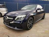 *Warranty With Mercedes*2019 Mercedes-Benz C300 AMG Fully Loaded ( Panaromic Roof/Burmester )