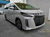 2019 Toyota Alphard 2.5 G S C Package MPV ALPINE Sunroof. Free 1 Year Engine Service & 1 Year RoadTa