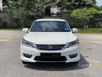HONDA ACCORD 2.0 VTI-L, OFFICAL OWN, NEVER USE FOR OUTSTATION, ONLY RON97, INTERIOR LIKE NEW CAR