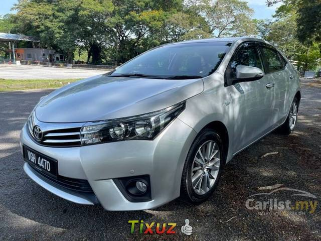 Toyota Corolla Altis 1.8 G Sedan (A) 2016 Facelift 1 Owner Only Original Paint Accident Free TipTop
