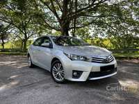 2016 Toyota Corolla Altis 1.8 G ORIGINAL PAINT LEATHER SEAT HIGH LOAN AMOUNT