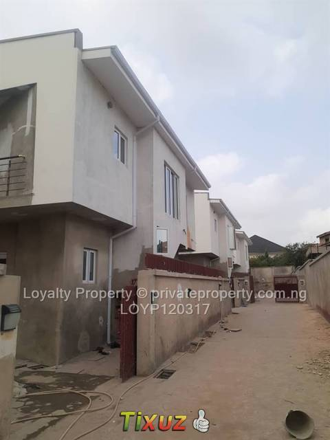 Brand new Fully detached 4bedroom duplex