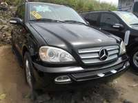 Neat Foreign used Mercedes-benz M Class 2005 Black