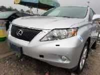 Foreign Used 2010 Silver Lexus RX for sale in Lagos.