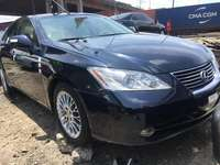 Foreign Used 2008 Dark Blue Lexus ES for sale in Lagos.