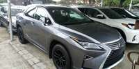 Foreign Used 2018 Grey Lexus RX for sale in Lagos.