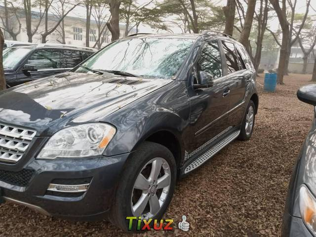 Foreign Used Mercedes-Benz ML350 2011 Model Blue