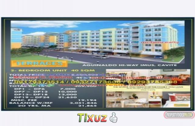 Affordable Condo in Imus Cavite Terraces at Tradizo Enclave