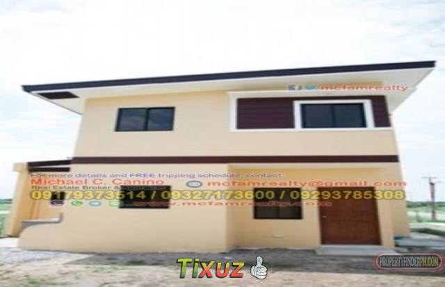 House and Lot For Sale in Cavite Birmingham Plains