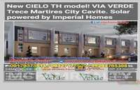 House For Sale in Cavite CIELO TOWNHOUSE VIA VERDE