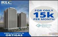 Experience the Walkable lifestyle at Ortigas CBD for only 15,000/month The Sapphire Bloc.