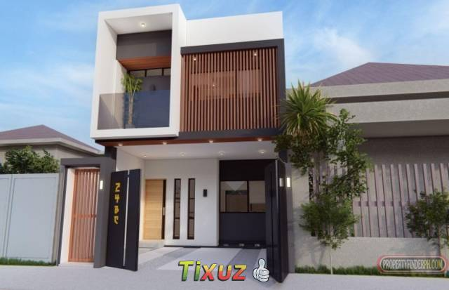Lahug Cebu City Contemporary Japanese Architecture House and Lot For Sale with 4BR/3 T&B near Mivesa